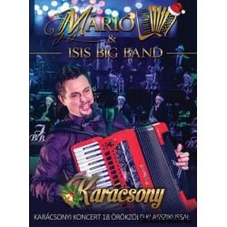 DVD Márió & Isis Big Band: Karácsony - Karácsonyi koncert 18 örökzöld klasszikussal DVD (Digipak)