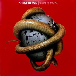 LP Shinedown: Treat To Survival (Limited Edition, Gatefold, Translucent Red)