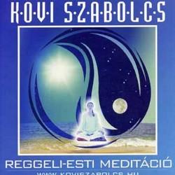 CD Kövi Szabolcs: Reggeli-esti meditáció