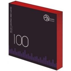 "LP Audio Anatomy 12"" Deluxe Audiophile Antistatic vinyl belső tasak - 100db (Vörös)"