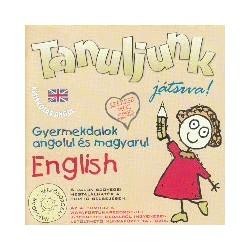 CD Tanuljunk játszva! Gyermekdalok angolul és magyarul