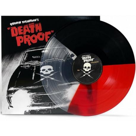 LP Quentin Tarantino's Death Proof Soundtrack (Limited Tri-Colored vinyl)