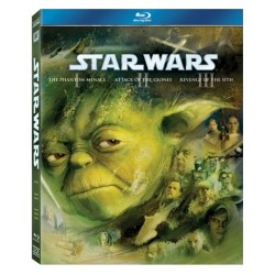 Blu-ray Star Wars Trilógia 1. (I-III. - 3BD)
