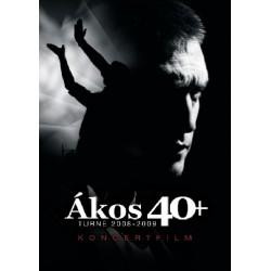 DVD Ákos: 40+ turné 2008-2009