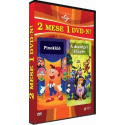 DVD Pinokkió / A dzsungel könyve
