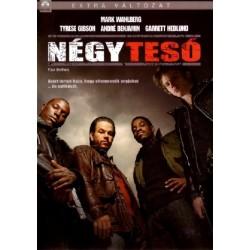 DVD Négy tesó (extra változat)