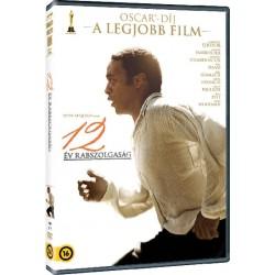 DVD 12 év rabszolgaság