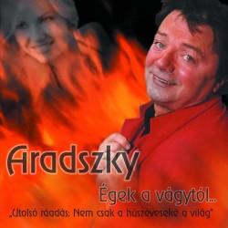 CD Aradszky László: Égek a vágytól