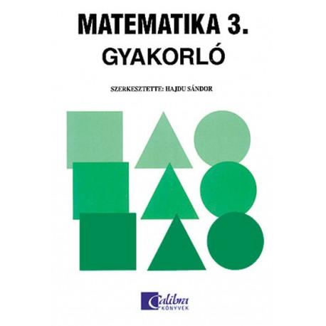Matematika 3. gyakorló