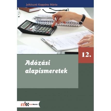 Adózási alapismeretek 12. osztály - Könyvbagoly b43b571796