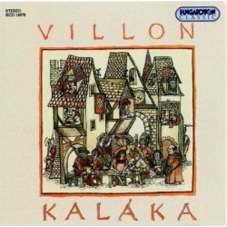 CD Kaláka: Villion balladák