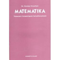 Matematika témazáró feladatlapok 7.