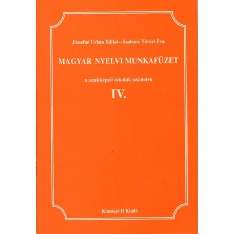 Magyar nyelvi munkafüzet IV.