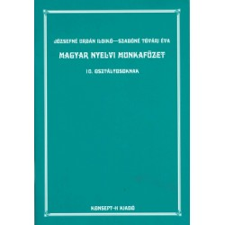Magyar nyelvi munkafüzet 10.