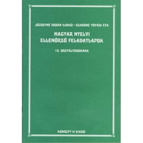 Magyar nyelvi feladatlapok 10.