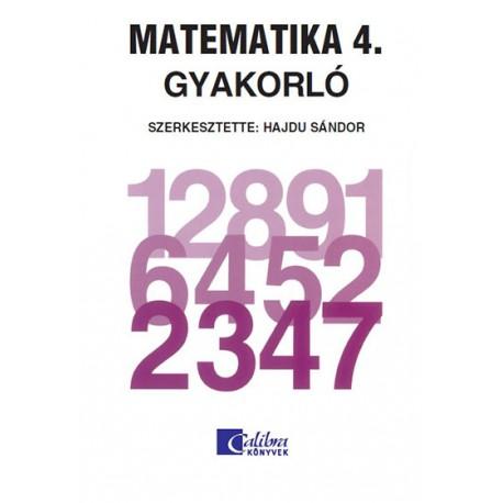 Matematika 4. gyakorló