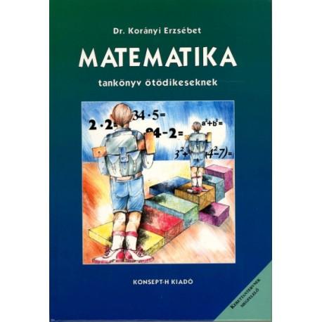 Matematika tankönyv ötödikeseknek