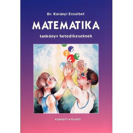 Matematika tankönyv hetedikeseknek