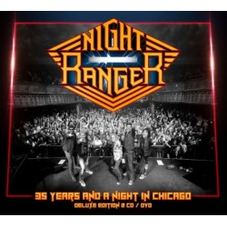 CD Night Ranger: 35 Years And A Night In Chicago (Deluxe Edition 2CD+DVD)