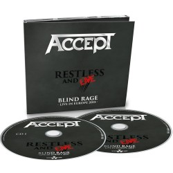 CD Accept: Restless And Live (Digipack 2CD)