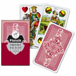 Magyar kártya piros