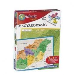 Magyarország puzzle 104 darabos