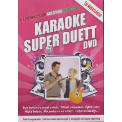 DVD Karaoke Super Duett