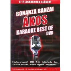 DVD Bonanza Banzai és Ákos: Best Of Karaoke