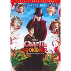DVD Charlie és a csokigyár (duplalemezes változat)