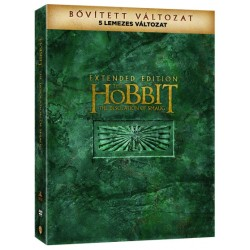 DVD A Hobbit: Smaug pusztasága (bővített 5 lemezes változat)