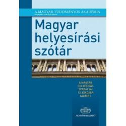 Magyar helyesírási szótár - A magyar helyesírás szabályai 12. kiadása szerint