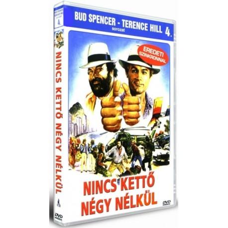DVD Nincs kettő négy nélkül