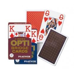 4 Indexes Opti Bridzs kártya kék