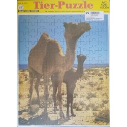 Állatok puzzle 120 db-os - Tevék