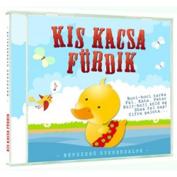 CD Kis kacsa fürdik - Népszerű gyerekdalok