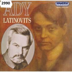 CD Latinovits Zoltán Ady Endre verseit és írásait mondja