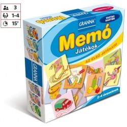 Az első játékaim Memó - Játékok