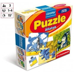Az első játékaim Puzzle - Állatok