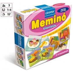 Az első játékaim Meminó - Ellentétek