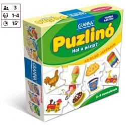 Az első játékaim Puzzlinó - Hol a párja?