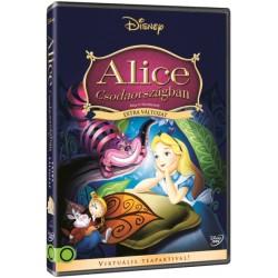 DVD Alice Csodaországban (extra változat)