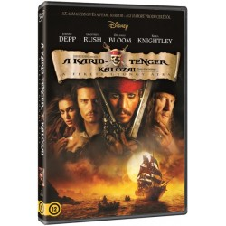 DVD A Karib-tenger kalózai - A Fekete Gyöngy átka