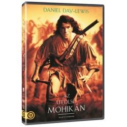 DVD Az utolsó mohikán