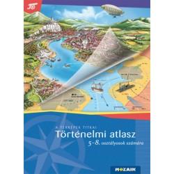MS-4115U Történelem atlasz 5-8. osztályosok számára
