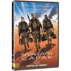 DVD Sivatagi cápák