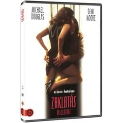 DVD Zaklatás
