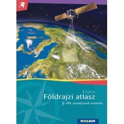 MS-4105U Képes földrajzi atlasz 5-10. osztályosok számára