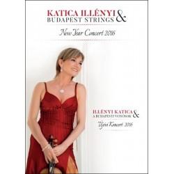DVD Illényi Katica & Budapesti Vonósok: Újévi Koncert 2016
