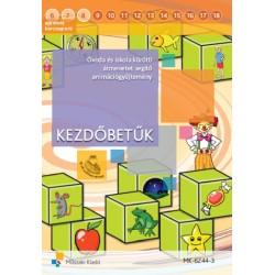 Kezdőbetűk - Óvoda és iskola közötti átmenetet segítő animációgyűjtemény CD-ről indítható változat