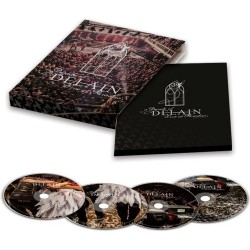 CD Delain: A Decade Of Delain - Live At Paradiso (Limited Digipack 2CD+DVD+Blu-ray)